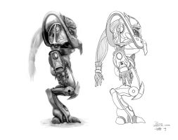 Protoss Zealot - Side by AncientSources