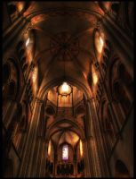 Limburg Cathedral HDR by Riot23
