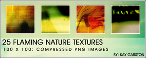 TEXTURES: FLAMING NATURE by Special-K-001