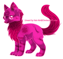 Standing Wolf (CLOSED) by AcidicAdopts