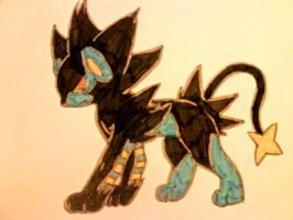 Luxray... by MiaHinasakie