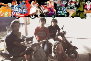 Fellas of Vespa by jnc-ajeng