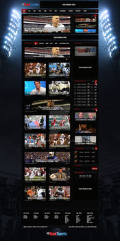 Sport News Web Design[For Sale] by NickchouBG
