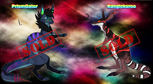 Creature Adopts 4 [CASH ONLY] [SOLD] by Linkaton