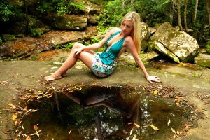 Kahli - aqua top 1 by wildplaces