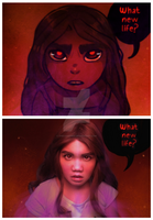 Comic Panel edit : Ava's Demon by thecarefree