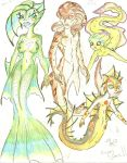 Mermaid art dump 1 by Coraline-176