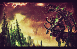 Illidan Stormrage by Laqko