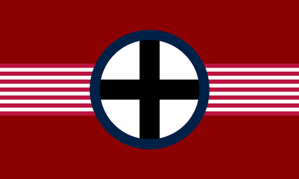 Flag of the Black Cross Movement by Swissair171