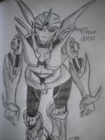 TF Prime Arcee by InkRose98