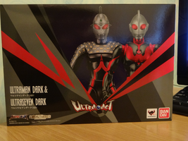 Ultra-Act - Dark Ultra Set Unboxing #1 by SpaceG92