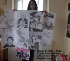 Happy Birthday Billie Joe! xx by KaddieGreenDayFreak