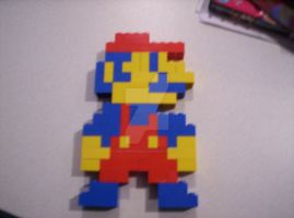 Lego Mario picture 2 by GoldenfrankO