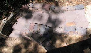 Dry Stone Steps, Exton PA by Devine-Escapes
