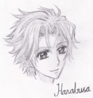 An older drawing of Hanabusa by AllimacLyra