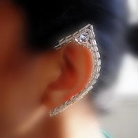 ice fairy ear-wraps by pikabee