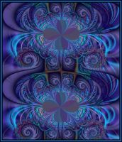 210 - Ornate Purple by GrannyOgg