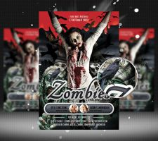Zombies Flyer Template by flashdo
