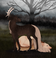 A Doe's Place by fulociraptor