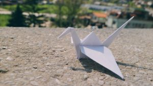 origami bird by she-is-so-fly