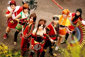 Koei Warriors - Heroes by acophoto