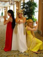 Sailor Moon: Mamoru's Angels by VandorWolf