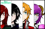 OC Lineup + Speedpaint by SpavVy