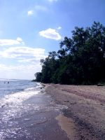 Toronto Island Beach by coconut-lane