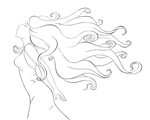 Floating - lineart preview by Magini