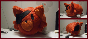 Handmade Foxy Tsum Tsum by HipsterOwlet