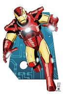 Iron Man II by AndrewJHarmon
