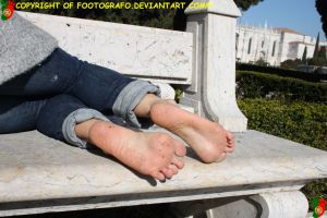Beatrice's Dirty Feet 5 by Footografo
