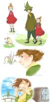 They are the Moomins by meadow-rue