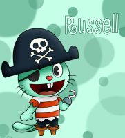 Happy Tree Friends: Russell by SuperLakitu