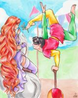 The Princess and the Acrobat II by FireFiriel