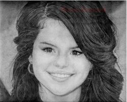 Selena Gomez by electrifeir4