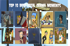 Top 10 Best Total Drama Moments by Bluesplendont