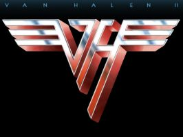 Van Halen II Logo Recreation by Space-Ace-Sco