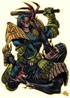 Judge Dredd - Ashcan AllStars by AZEITONA
