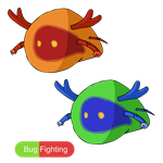 Fakemon Collab Project- Pupunch by Skyewars