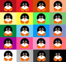 Penguin WP - Pallet by yawn2oo