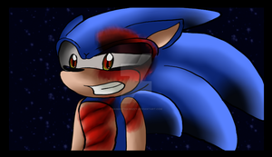Dr.Eggman made Sonic Evil by samanthaxkizzy