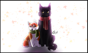 Gift: Farris and Smokey by SimplyKeji