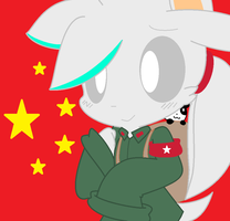 Cute Silver as China by BjtheHedgie3