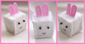 Cube Bunny by Eternay