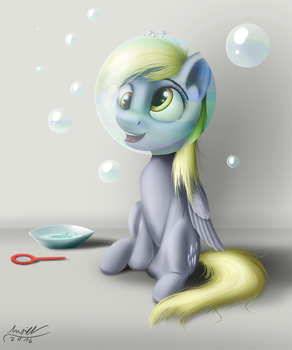 Playing with Bubbles by MisiekPL