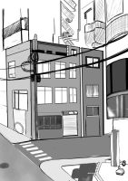 Japan Speed Sketch Background 1 by ChazzVC