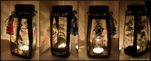 Japanese Candle Holder by Bonniemarie