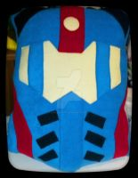 Pacific Rim Jaeger Gypsy Danger Face Pillow by Lunasakurahime