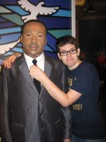 Have to stay handsome(madame tussauds) by Albme94